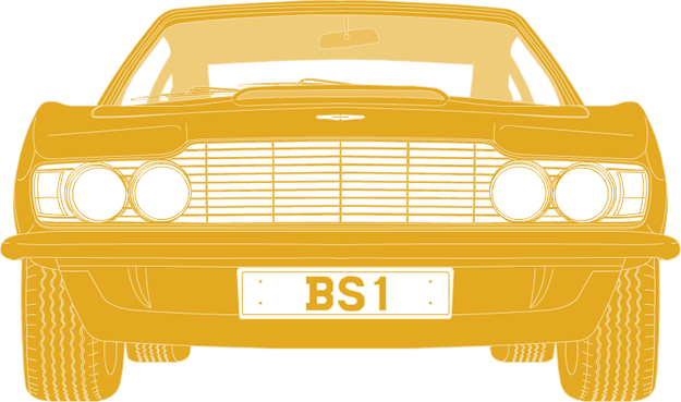 Front illustration of Aston Martin DBS PPP 6H 'BS 1'