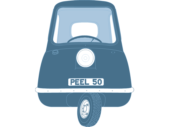 Front illustration of Peel P50 PEEL 50